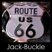 Buckle Route 66 US American Dream Biker Gürtelschnalle