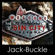 Buckle SIN CITY Nevada Gürtelschnalle
