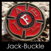 Gürtelschnalle (Buckle) AFL CLC Fire Fighters