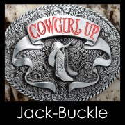 Buckle COWGIRL UP Western Country Gürtelschnalle