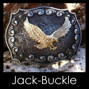 Buckle Flying Eagle Rodeo Double Gürtelschmale